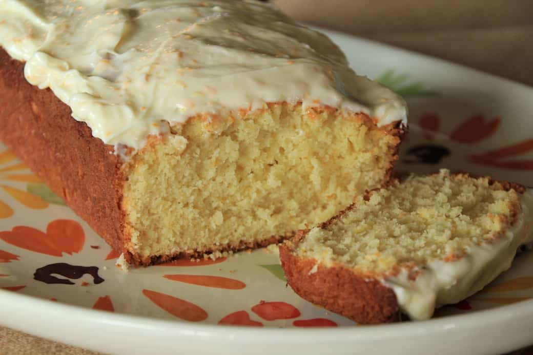 orange yogurt bread with orange cream cheese glaze - greens ...