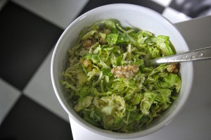 brusselssprouts salad