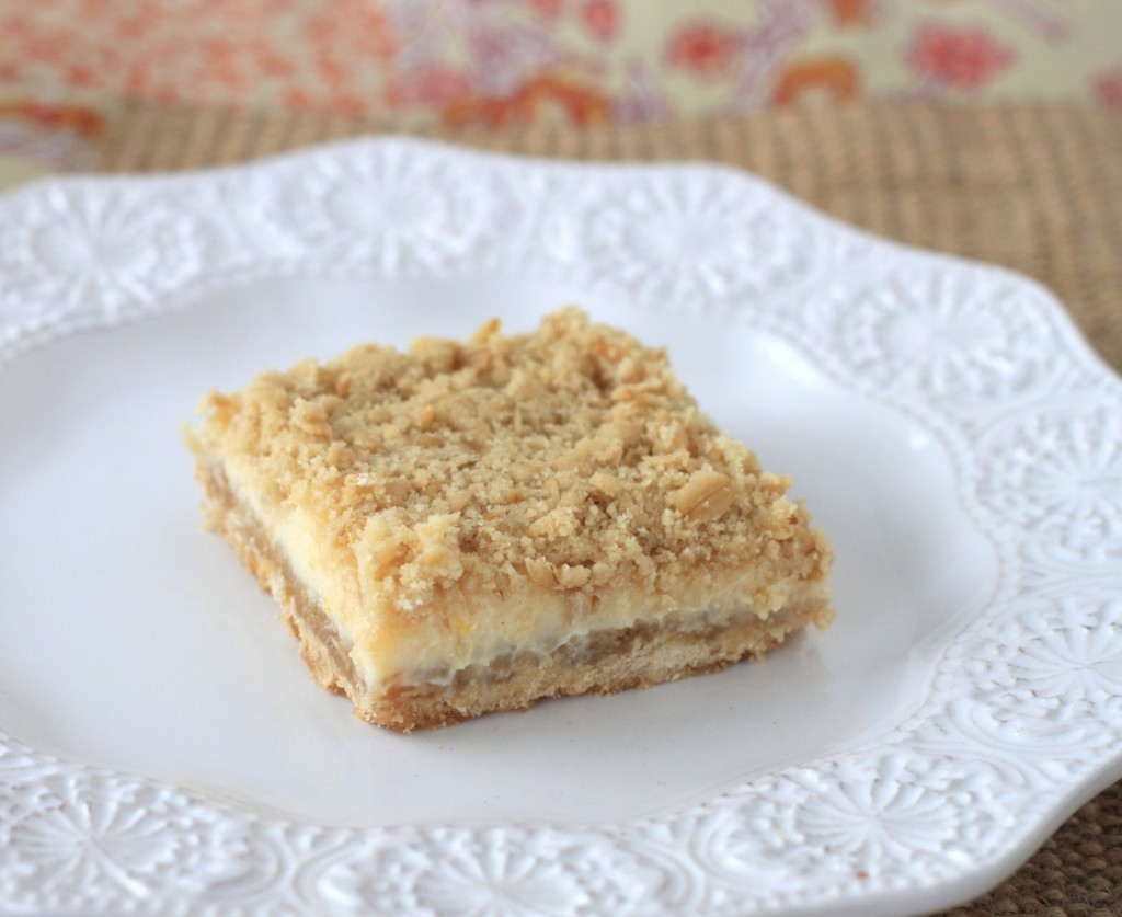 Creamy Lemon Crumb Squares Recipe — Dishmaps
