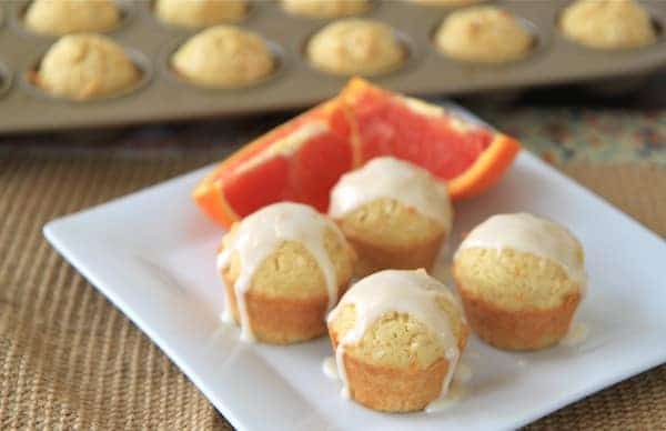 coconut orange mini muffins