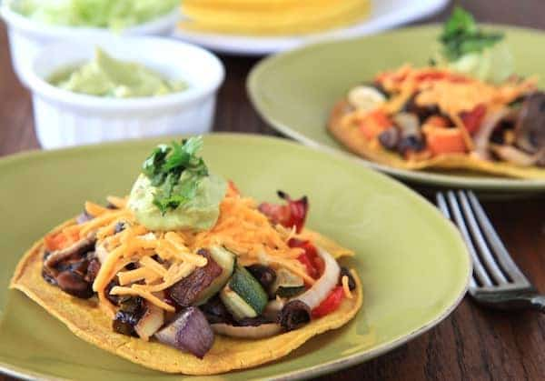 roasted veggie tostadas 2