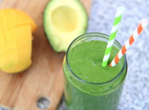 tropical green smoothie 2