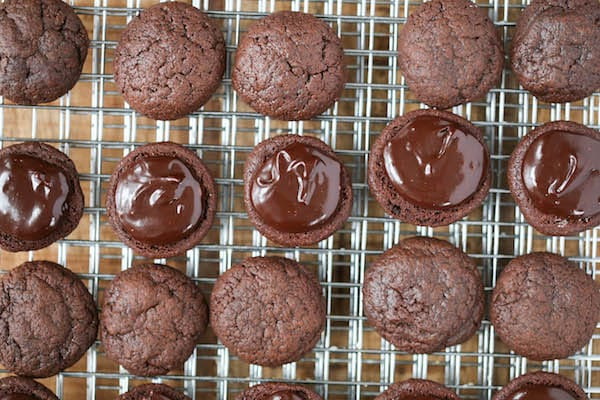 Triple Chocolate Sandwich Cookies