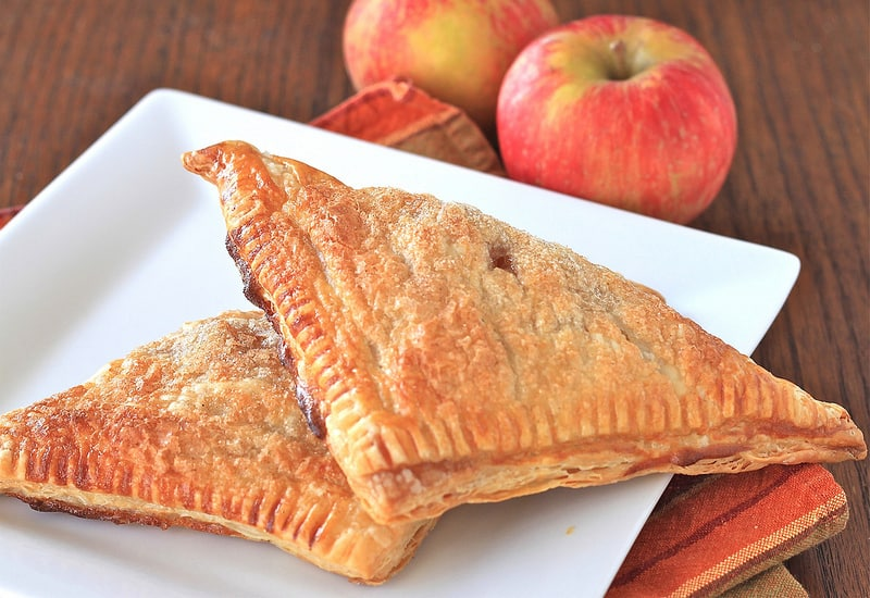 Cinnamon Sugar Apple Turnovers – these are so easy and so delicious ...