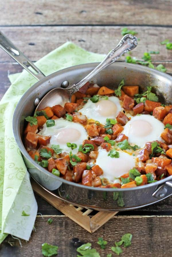 Southwest-sweet-potato-breakfast-skillet