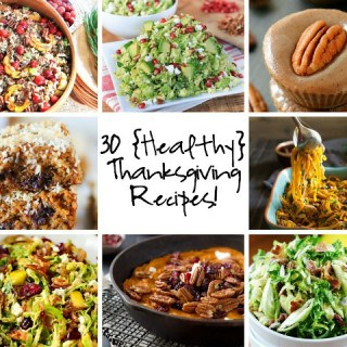 Healthy Thanksgiving Recipe Round Up