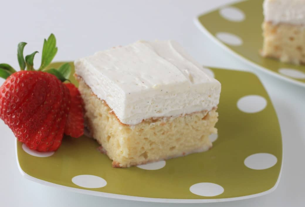 Rum Chata Tres Leches