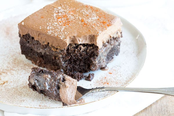 Mexican Chocolate Tres Leches Cake | greens & chocolate