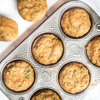 Healthy Zucchini Muffins {and Toddler Friendly!}