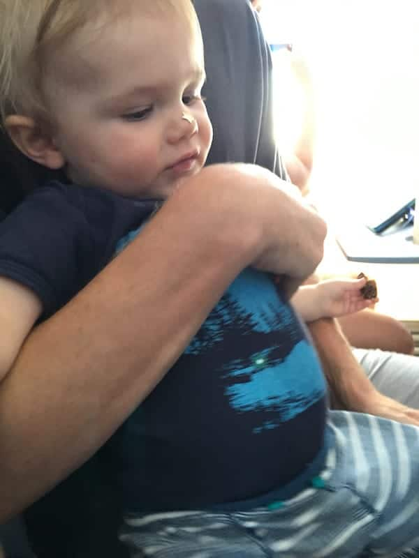 How to Survive Flying with a One Year Old