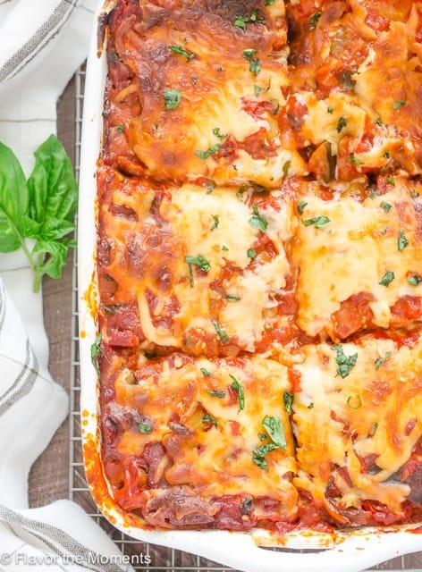 Ratatouille Lasagna from Flavor the Moments.