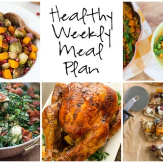 Healthy Weekly Meal Plan Week of 11.19.16