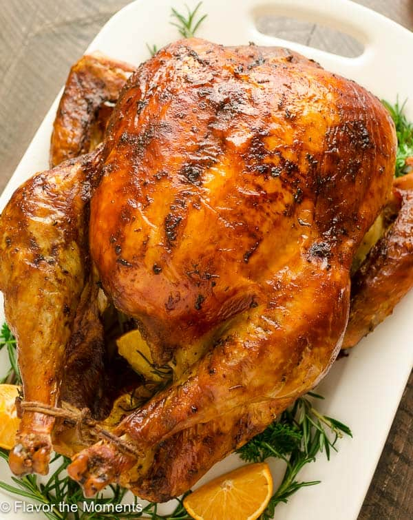 Prep Tips: The turkey is dry brined up to 3 days ahead! Serve with ...