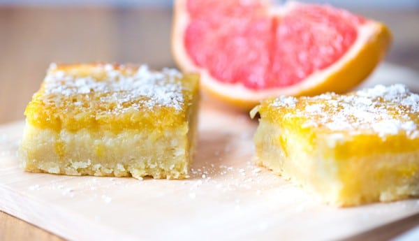 Grapefruit Bars