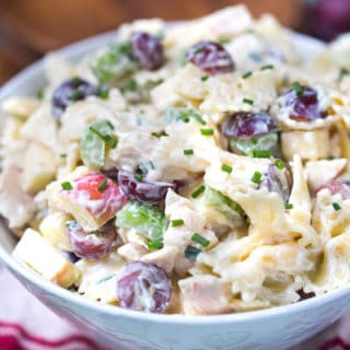 Waldorf Chicken Pasta Salad