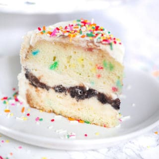 Funfetti Birthday Ice Cream Cake
