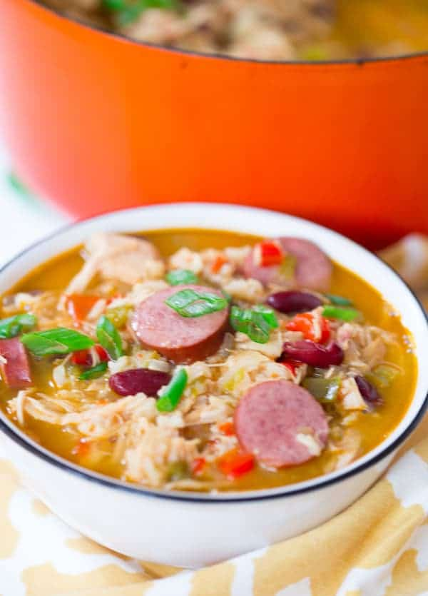 Cajun Turkey Rice Soup