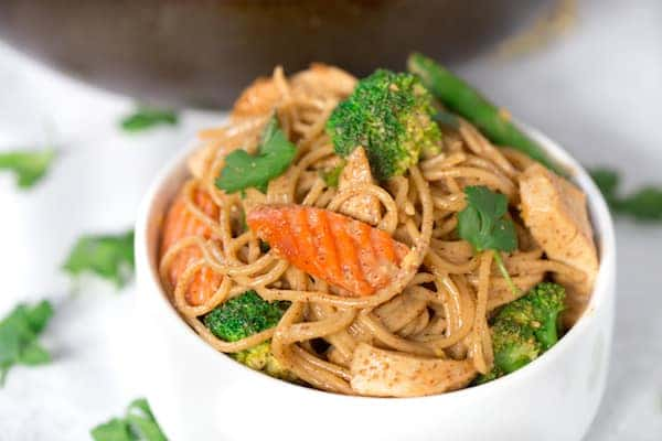Almond Coconut Noodle Bowl-6