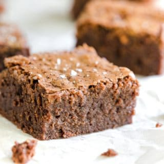 Brown Butter Sea Salt Brownies