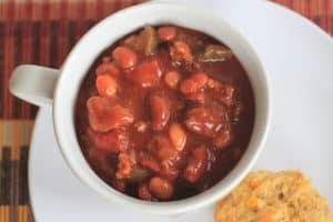 Crock Pot Beef and Bean Chili