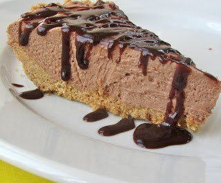 no-bake nutella mousse pie