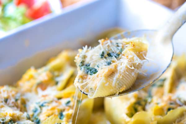 Butternut Squash Stuffed Shells with Sage Brown Butter Sauce