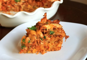 chicken tamale cornbread pie