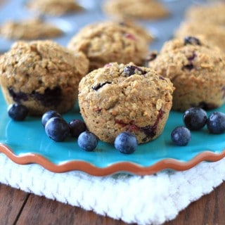 superfood week: quinoa blueberry muffins