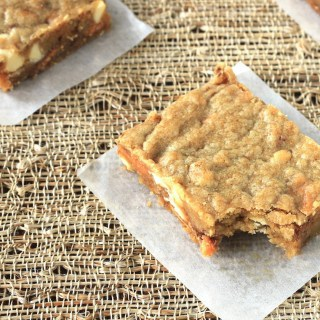 butterfinger blondies {appreciation post}