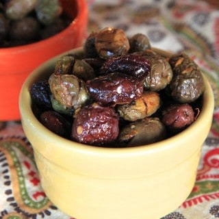Citrus and Rosemary Roasted Olives