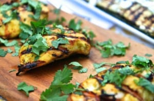 Mango Curry Grilled Chicken | greens & chocolate