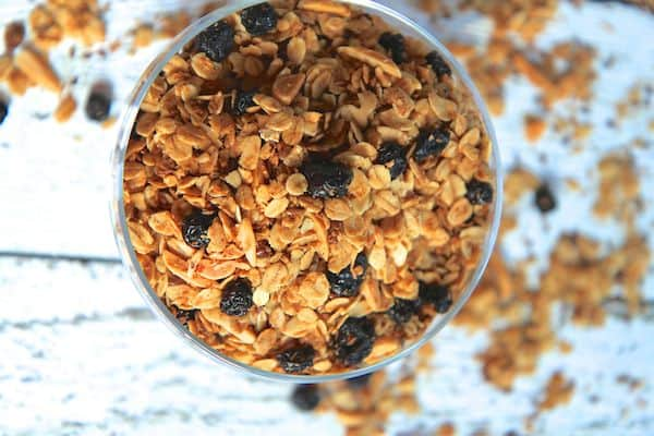 Coconut & Blueberry Flax Granola