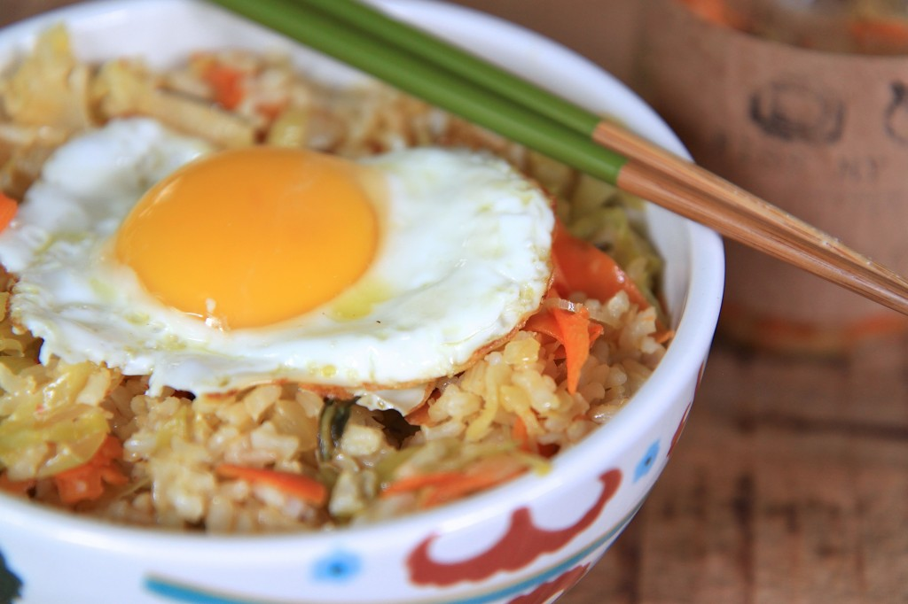 Kimchi Fried Rice | greens & chocolate