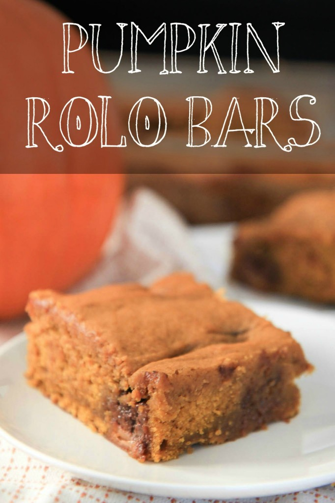 Pumpkin Rolo Bars | greens & chocolate