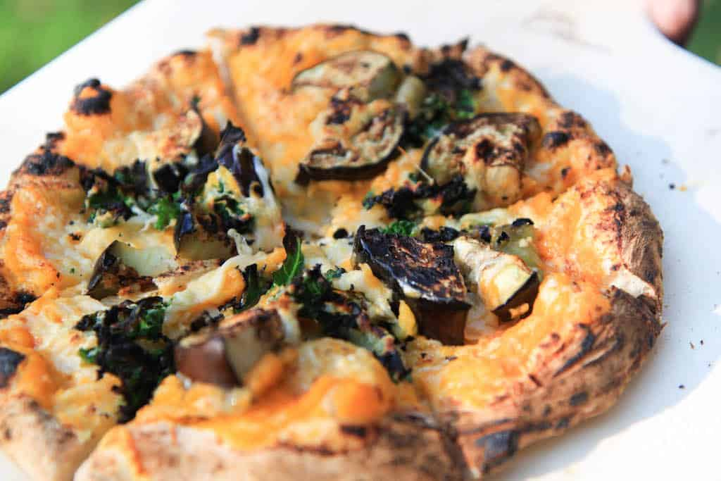 smoky squash and eggplant pizza_-7