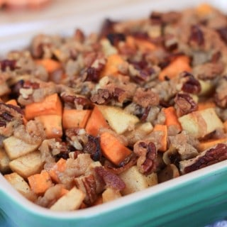 bacon and apple sweet potato casserole