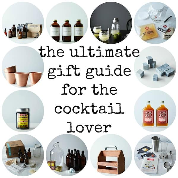 The Ultimate Gift Guide For The Cocktail Lover