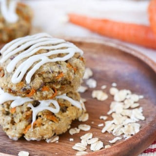 Carrot Cake Breakfast Cookies