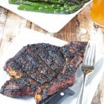 Coffee Rubbed Ribeyes