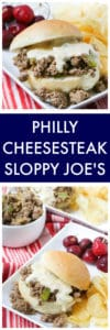 Philly Cheesesteak Sloppy Joe's