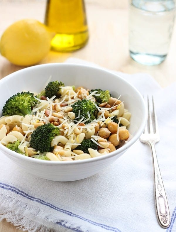 Roasted Broccoli Lemon Pasta