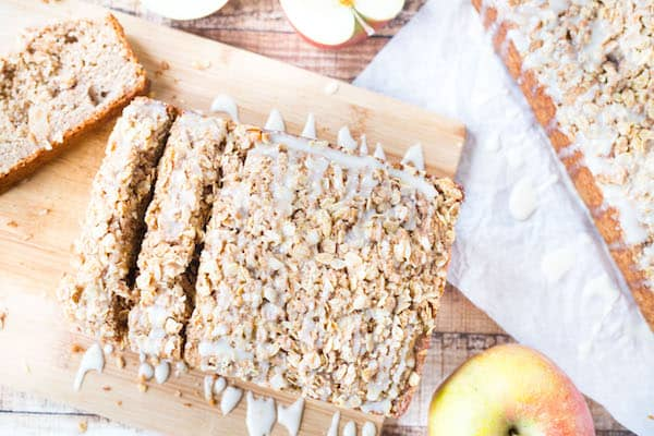 Cinnamon Apple Yogurt Bread