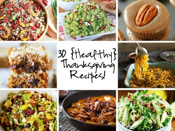 Healthy Thanksgiving Roundup