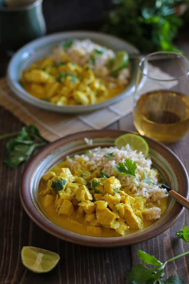 30 Minute Thai Chicken Curry