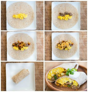 Southwestern Breakfast Burritos {Freezer Friendly!}