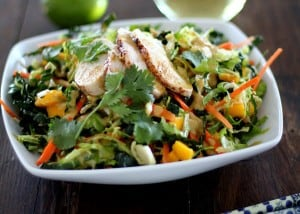 Thai Chicken Chopped Kale Salad