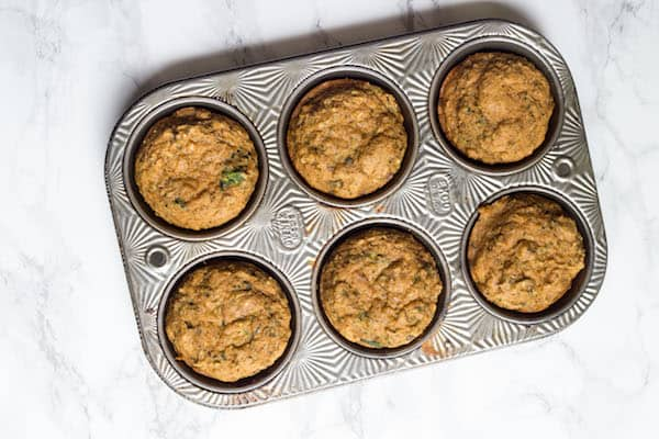Healthy Zucchini Muffins {Toddler Friendly!}