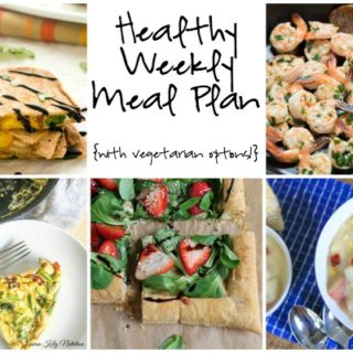 Healthy Weekly Meal Plan Week of 7.16.16