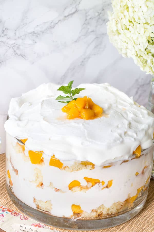 Peaches and Cream Trifle-2