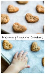 Rosemary Cheddar Crackers